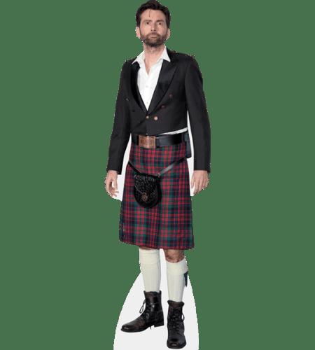 David Tennant (Red Kilt)