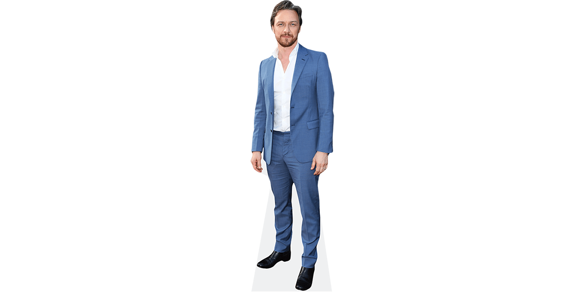Blue Suit Life Size Cutout James Marsden
