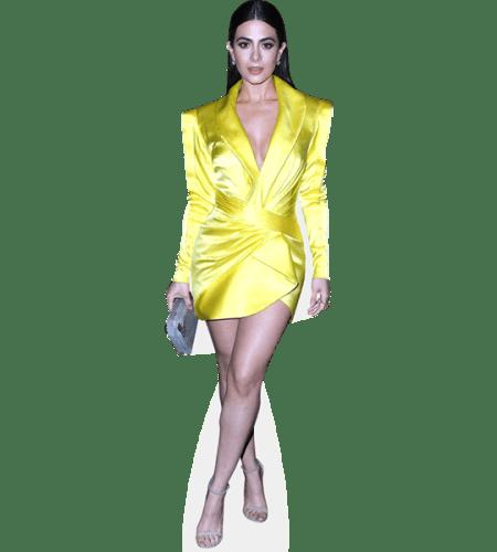Emeraude Toubia (Yellow Dress)