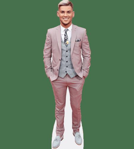 Kieron Richardson (Pink Suit)