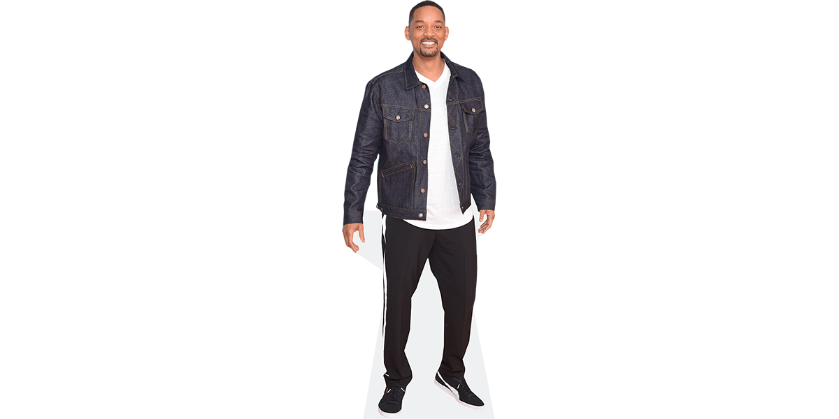 Will Smith Life Size Cutout