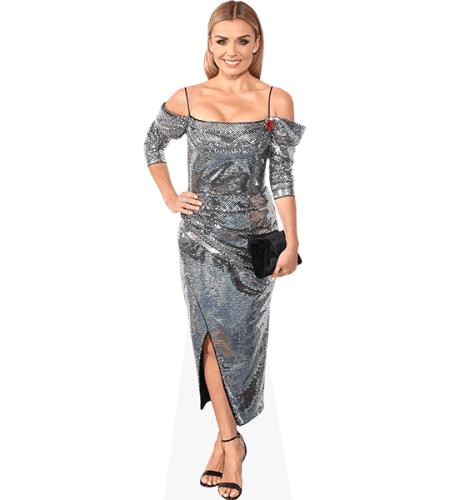 Katherine Jenkins (Silver Dress)