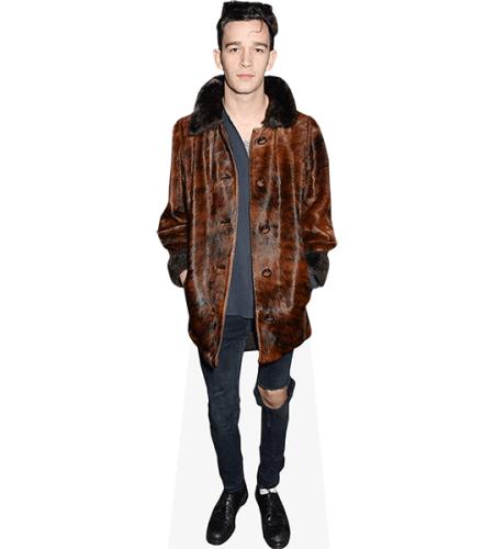 Matthew Healy (Brown Jacket)