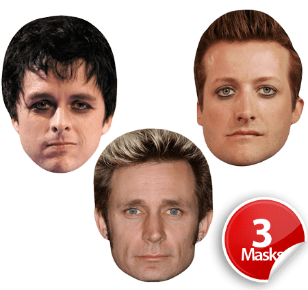 Green Day Mask Pack