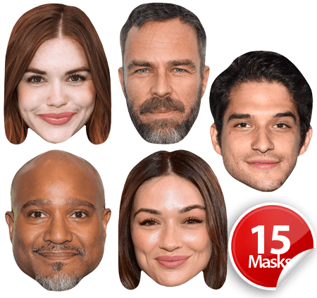 Teen Wolf Mask Pack