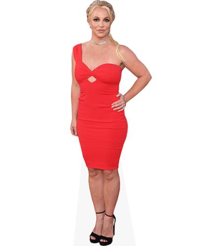 Britney Spears (Red Dress)