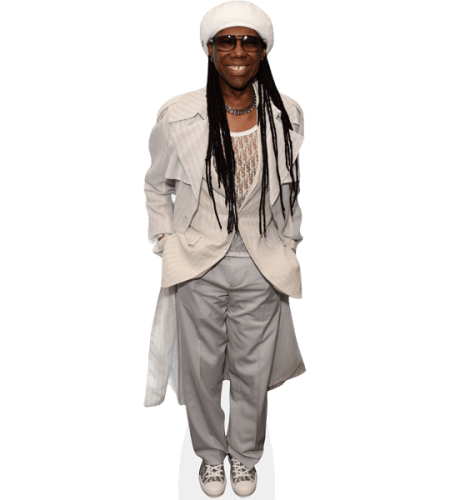 Nile Rodgers (White Jacket)