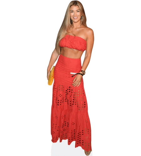 Amy Willerton (Orange Outfit)
