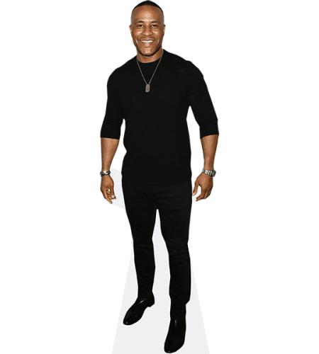 DeVon Franklin (Black Outfit)