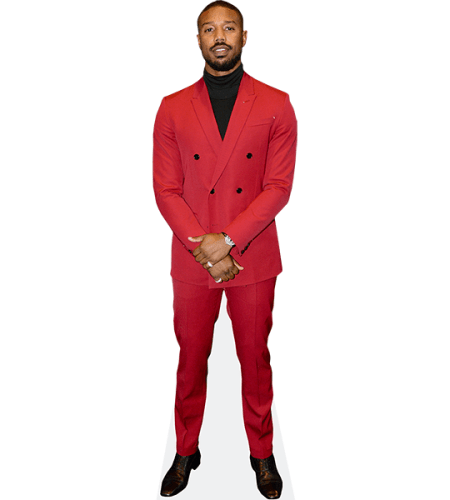 Michael B Jordan (Red Suit)