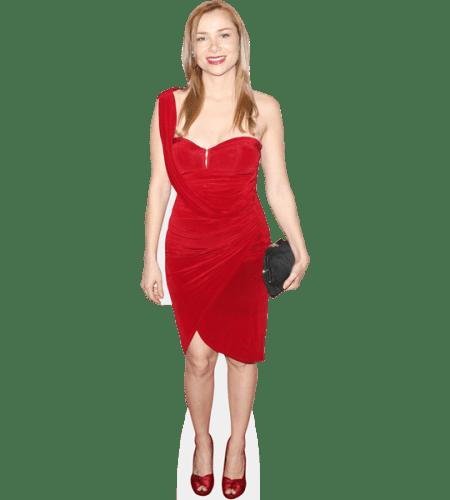 Mika Boorem (Red Dress)