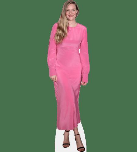 Romola Garai (Pink Dress)