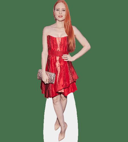 Barbara Meier (Red Dress)