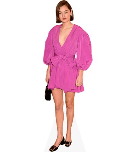 Emma Corrin (Purple Dress)