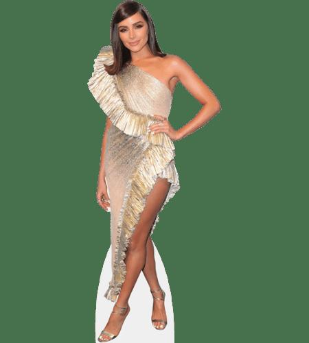 Olivia Culpo (Gold Dress)