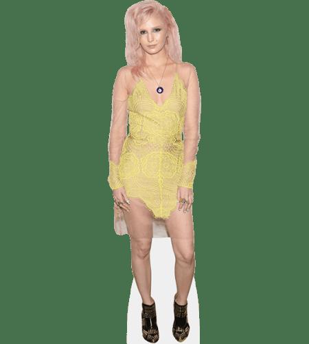 Audrey Kitching (Yellow Dress)