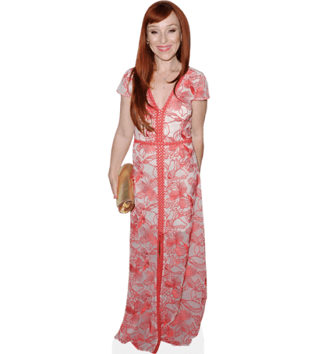 Ruth Connell (Pink Dress)