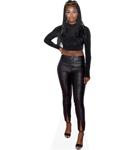 Courtney Jones (Black Outfit)