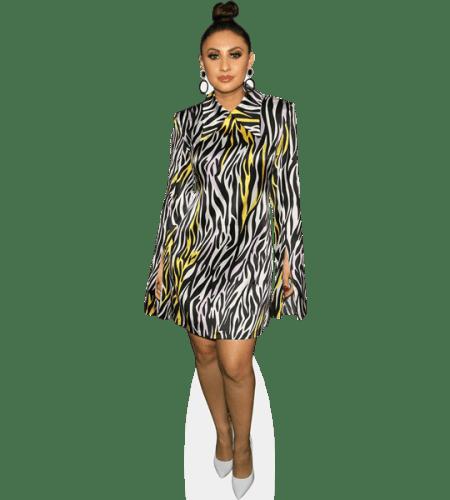 Francia Raisa (Zebra Print)