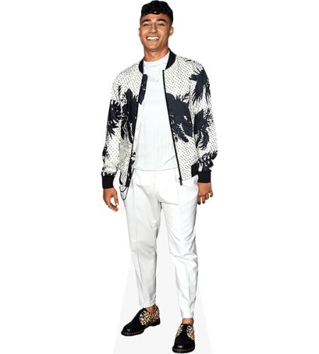 Karim Zeroual (White Trousers)
