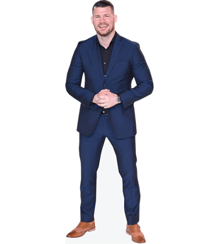 Michael Bisping (Blue Suit)