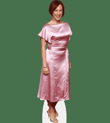 Tanya Franks (Pink Dress)