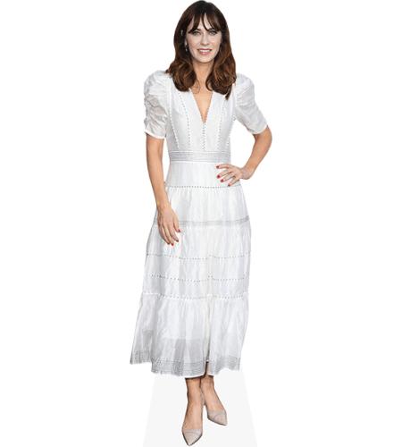 Zooey Deschanel (White Dress)