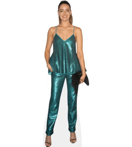 April Rose Pengilly (Turquoise Outfit)