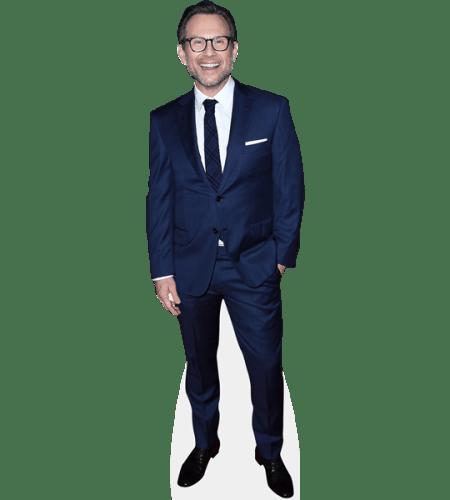 Christian Slater (Blue Suit)