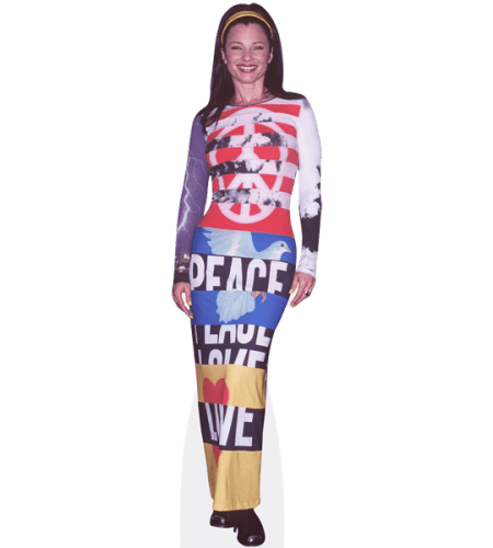 Fran Drescher (Long Dress)