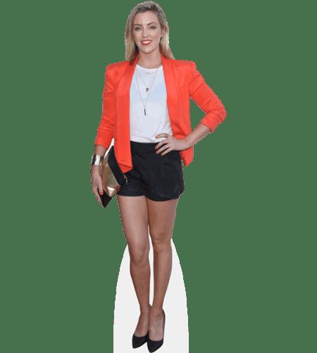 Jacinta Stapleton (Orange Blazer)