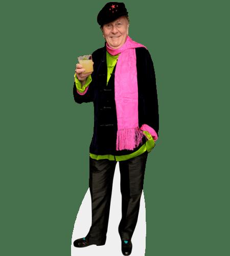 John Barry Humphries (Pink Scarf)