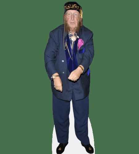 John McCririck (Blue Suit)