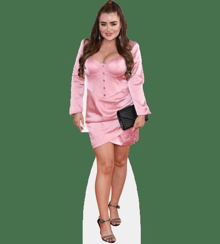 Amy Christophers (Pink Dress)