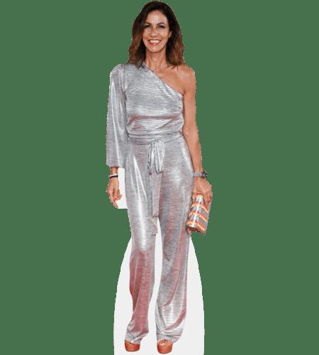Julia Bradbury (Silver Dress)
