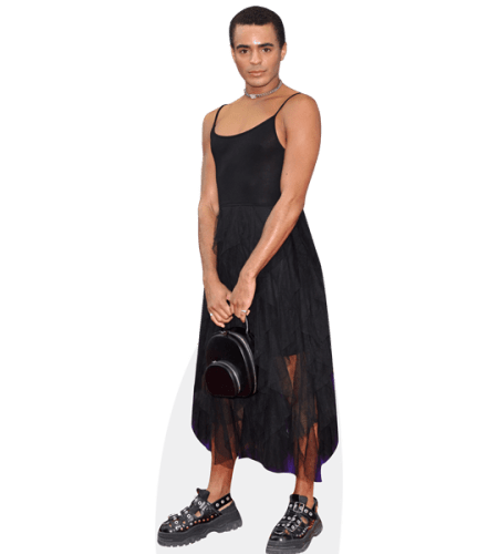 Layton Williams (Black Outfit)