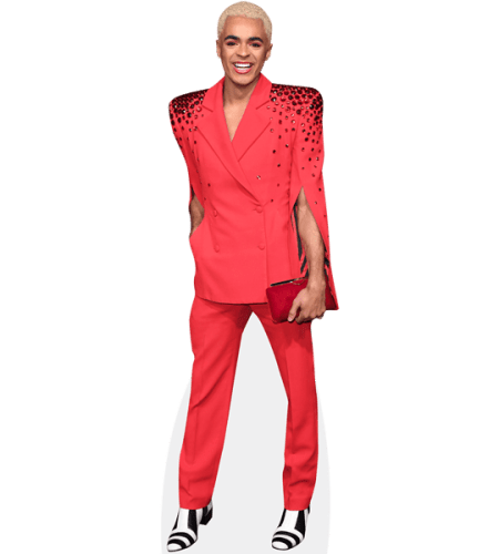 Layton Williams (Red Suit)