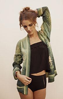 Nicole Richie Winter Kate Opy Jacket