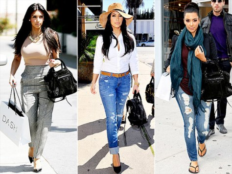 Kim Kardashian Loves Balenciaga City Tote