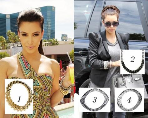 Kim Kardashian Rocks Her Own Jewelry Line Belle Noel