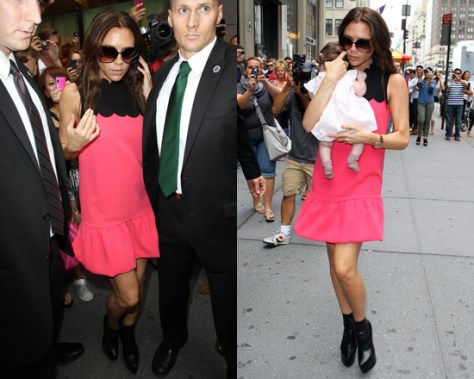 Victoria Beckham in VB Spring 2012 RTW Dress