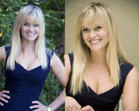 Reese Witherspoon at This Means War Press Conference wearing Roland Mouret Lush Dress