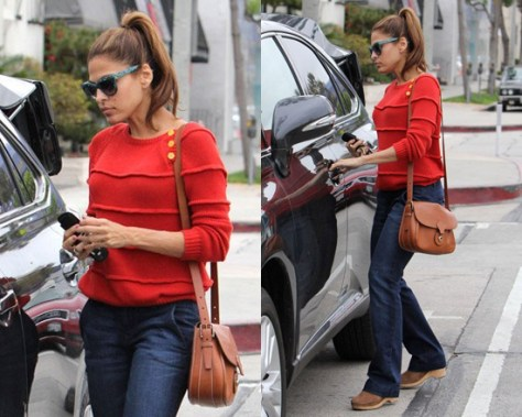 eva-mendes-Boy--by-Band-of-Outsiders-Ribbed-Striped-Sweater