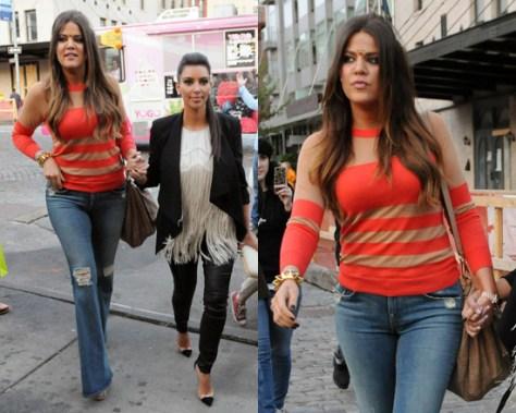 khloe-kardashian-Marc-Jacobs-Flame-Camel-Stripe-Chinati-Sweater