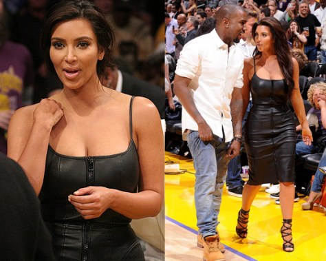 kim-kardashian-Givenchy-Stretch-Nappa-Leather-Dress