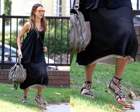 jessica-alba-Cocobelle-Womens-Aztec-Sandals