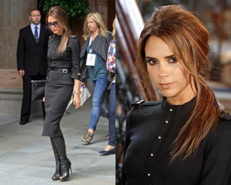 Victoria-Beckham-Silk-and-wool-blend-crepe-dress