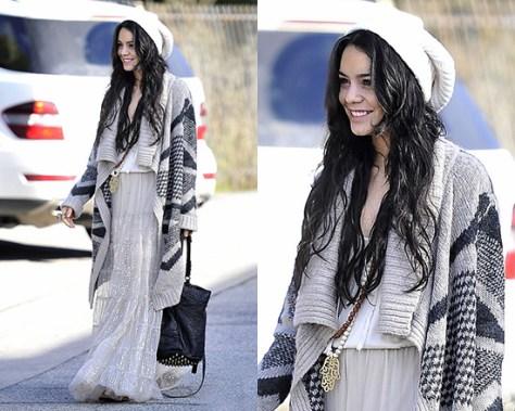 Vanessa Hudgens wearing Heartloom Bianca Wrap