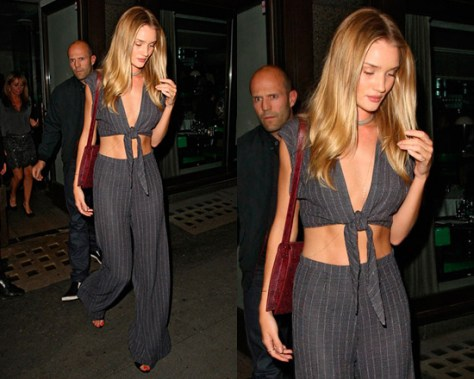 Rosie Huntington-Whiteley in the Reformation Juniper Jumper