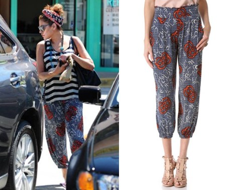 eva-mendes-Tbags-Los-Angeles-Cropped-Harem-Pants